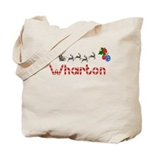 Wharton, Christmas Tote Bag