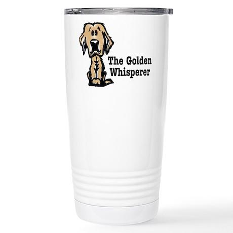 The Golden Whisperer Stainless Steel Travel Mug
