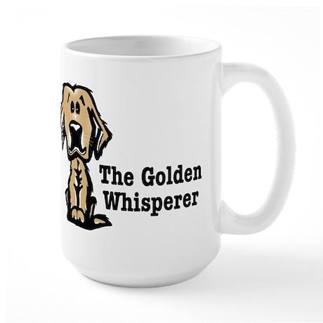 The Golden Whisperer Large Mug