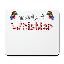 Whistler, Christmas Mousepad