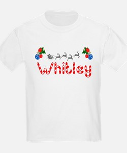 Whitley, Christmas T-Shirt