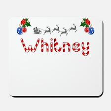 Whitney, Christmas Mousepad