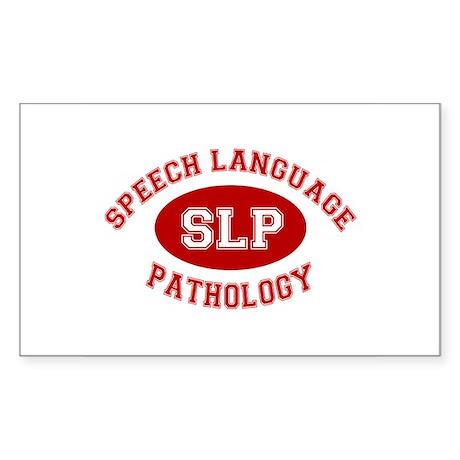 SLP Athletic Rectangle Sticker
