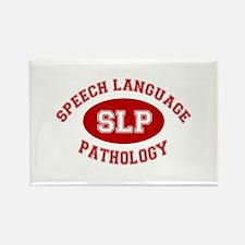 SLP Athletic Rectangle Magnet