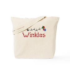 Winkles, Christmas Tote Bag