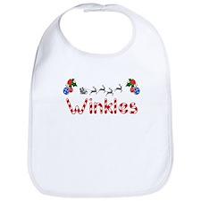 Winkles, Christmas Bib