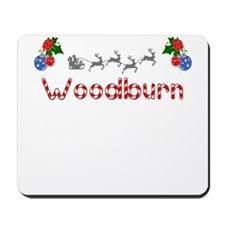 Woodburn, Christmas Mousepad