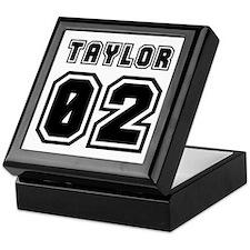 TAYLOR JERSEY 00 Keepsake Box