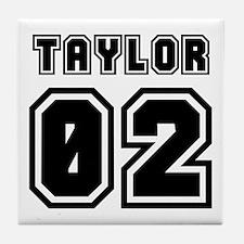 TAYLOR JERSEY 00 Tile Coaster