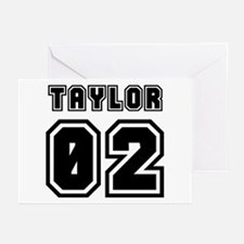 TAYLOR JERSEY 00 Greeting Cards (Pk of 10)