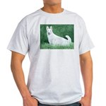 White German Shepherd Ash Grey T-Shirt