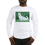 Wht Grmn Shepherd Long Sleeve T-Shirt
