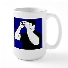 Birding is Fun! Icon Large Mug