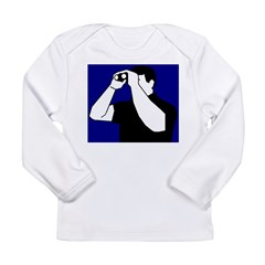 Birding is Fun! Icon Long Sleeve Infant T-Shirt