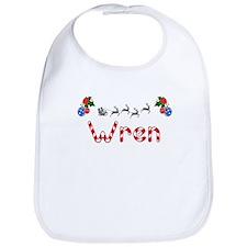 Wren, Christmas Bib