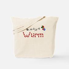 Wurm, Christmas Tote Bag