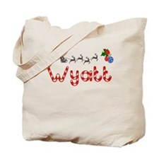 Wyatt, Christmas Tote Bag