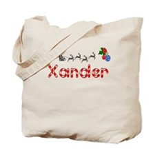 Xander, Christmas Tote Bag