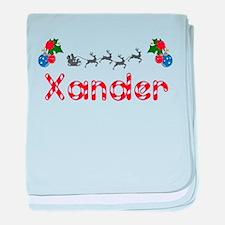 Xander, Christmas baby blanket