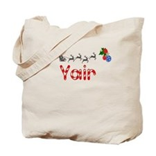 Yair, Christmas Tote Bag