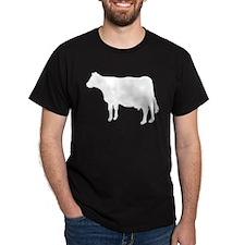 Cow Black T-Shirt