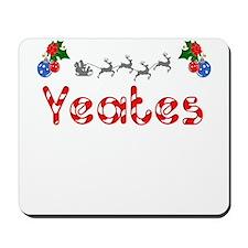 Yeates, Christmas Mousepad