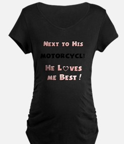 For the Ladies of Motorcycle Owners T-Shirt