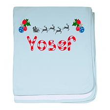 Yosef, Christmas baby blanket