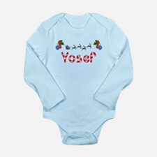 Yosef, Christmas Long Sleeve Infant Bodysuit