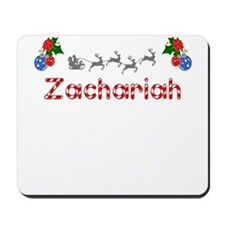 Zachariah, Christmas Mousepad