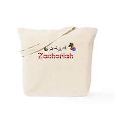 Zachariah, Christmas Tote Bag