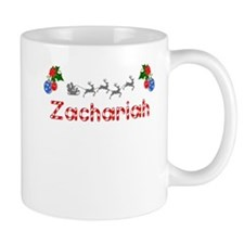 Zachariah, Christmas Small Mug