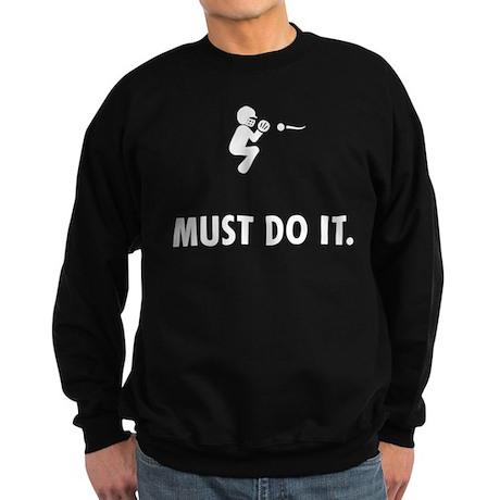 Softball Catcher Sweatshirt (dark)