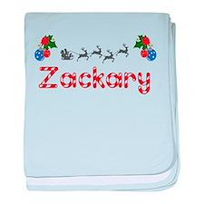 Zackary, Christmas baby blanket