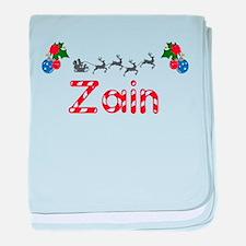 Zain, Christmas baby blanket