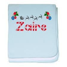 Zaire, Christmas baby blanket