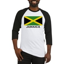 Flag of Jamaica Baseball Jersey