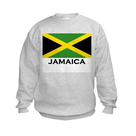 Flag of Jamaica Kids Sweatshirt