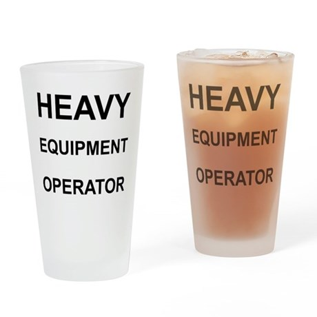 Heavy Personalised Drinking Glass