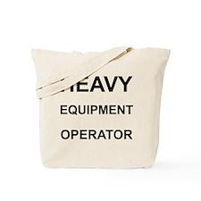 Heavy Equipment Operator Tote Bag