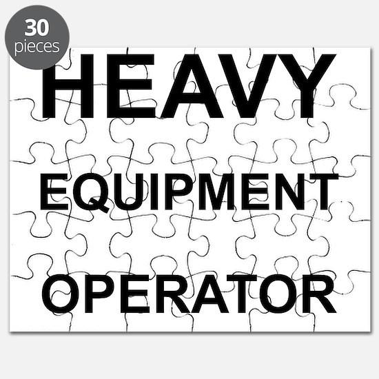 Heavy Equipment Operator Puzzle