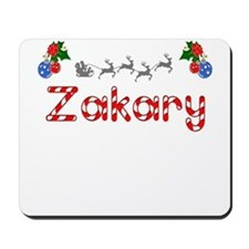 Zakary, Christmas Mousepad
