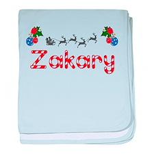 Zakary, Christmas baby blanket
