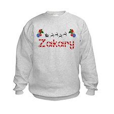 Zakary, Christmas Sweatshirt