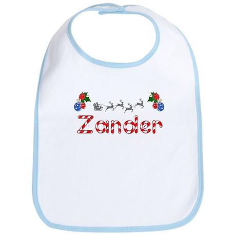 Zander, Christmas Bib