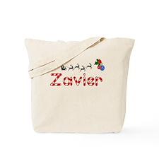 Zavier, Christmas Tote Bag