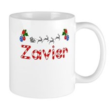 Zavier, Christmas Small Mug