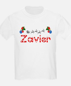 Zavier, Christmas T-Shirt