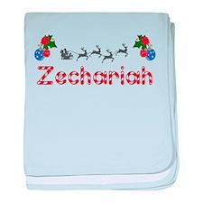 Zechariah, Christmas baby blanket