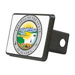 Alaska State seal Rectangular Hitch Cover